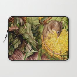 Honey Possum in Dryandra Laptop Sleeve