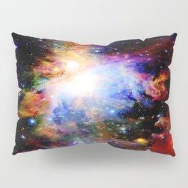 GaLaXY : Orion Nebula Dark & Colorful Pillow Sham