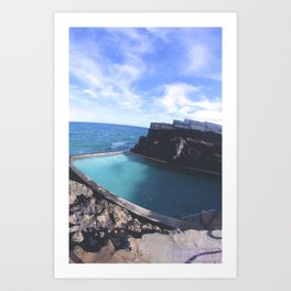 Water Vibes Art Print