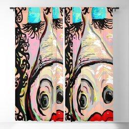 Lipstick on a Pig Blackout Curtain