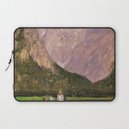12,000pixel-500dpi - Frederic Edwin Church - Koenigsee, Near Berchtesgaden, Bavaria Laptop Sleeve
