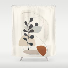 Persistence is fertile 3 Shower Curtain