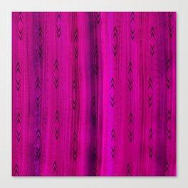 Tourmaline Arrow Pattern Canvas Print