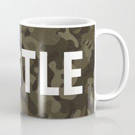 Hustle - camouflage version Coffee Mug