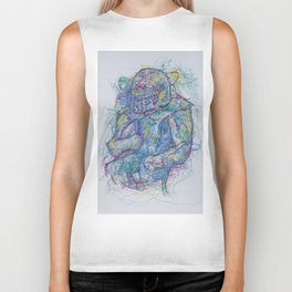 Rushing Runningback Biker Tank