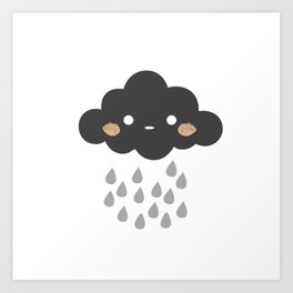 Littlest Rain Cloud Art Print