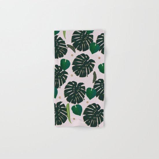 Plant Life Hand & Bath Towel