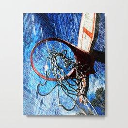 Basketball art 10 Metal Print