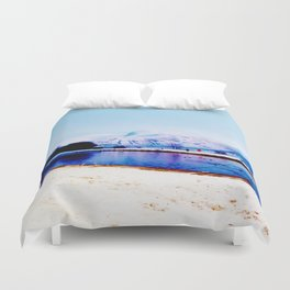 Corpach Sea loch, Highlands of Scotland Duvet Cover