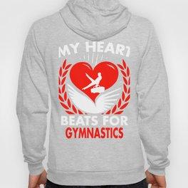 My Heart Beats For Gymnastics Hoody