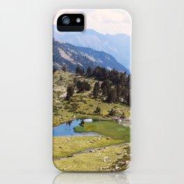 Love hiking iPhone Case