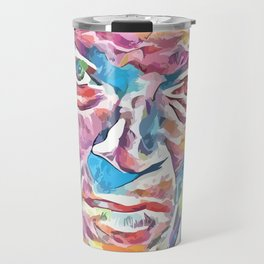 Vincent Cassel (Creative Illustration Art) Travel Mug