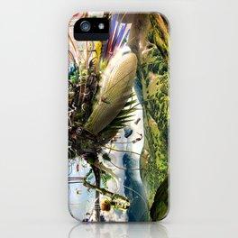 Fleeing Creativity (surreal) iPhone Case