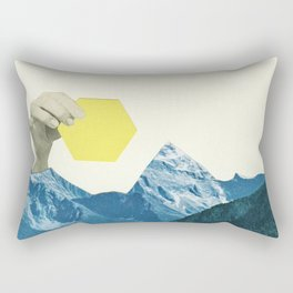 Moving Mountains Rectangular Pillow