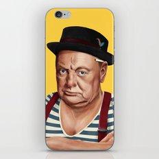 Hipstory -  Winston Churchill iPhone Skin