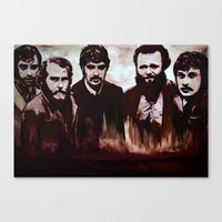 band Canvas Prints featuring Band by lyneth Morgan