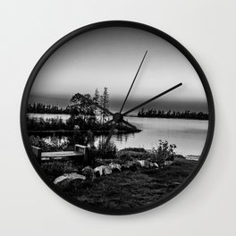 A Little Bit of Lake Superior Wall Clock