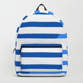 Beach Stripes Blue Backpack