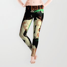 Rock'n roll's alive cause got the power, baby Leggings