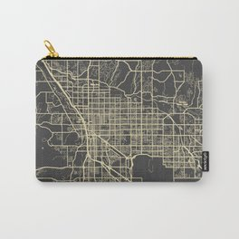 Tucson Map yellow Carry-All Pouch