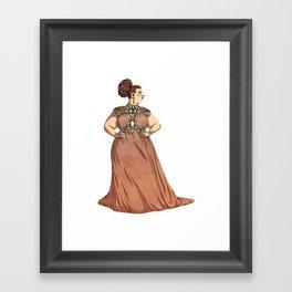 Dress #1 Framed Art Print