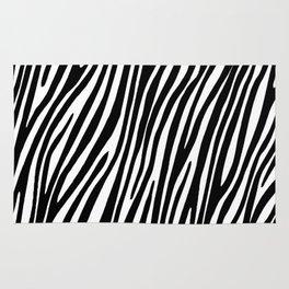 Animal print zebra Rug