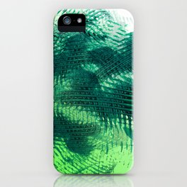Crossing Greens iPhone Case