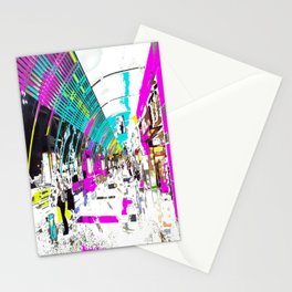 Late Nite Shopping Stationery Cards