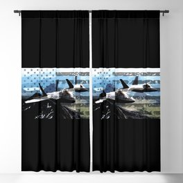 US Flag: F-22 Blackout Curtain