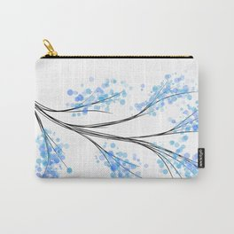bubble blue Carry-All Pouch