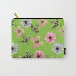 Fresh Flowers Carry-All Pouch