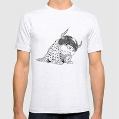 Avatar / Appa by Luna Portnoi Mens Fitted Tee Ash Grey LARGE
