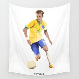 Football Heroes - Brazil - Neymar Wall Tapestry