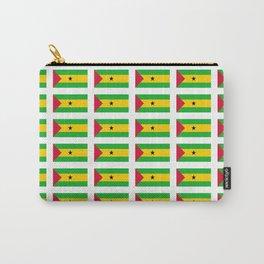 Flag of São Tomé and Príncipe -Sao tome,principe,São Toméan, Sao Tomean, Santomean,são-tomense Carry-All Pouch