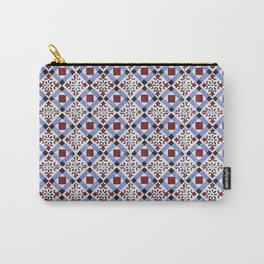 Portugal tile pattern Carry-All Pouch