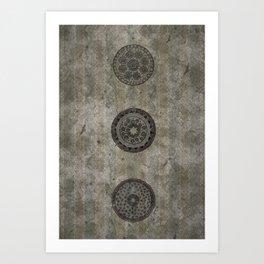 Three Cells Art Print