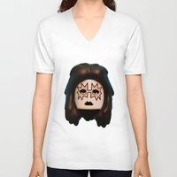 ace V-neck T-shirts featuring Ace by Beastie Toyz
