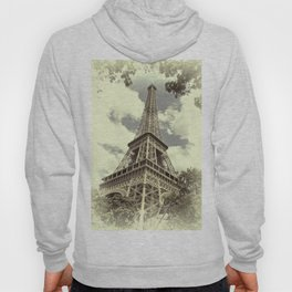 Eiffel Tower in Paris Hoody
