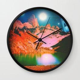 Irvine Lake Wall Clock