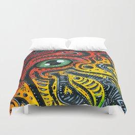 Eye of Africa Duvet Cover