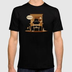 The Hangover LARGE Mens Fitted Tee Black