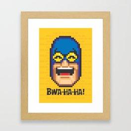 Bwa-ha-ha! Framed Art Print