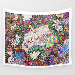 Set Your Mind Free Wall Tapestry