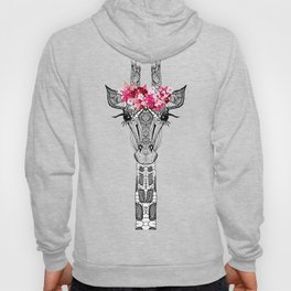 FLOWER GIRL GIRAFFE Hoody
