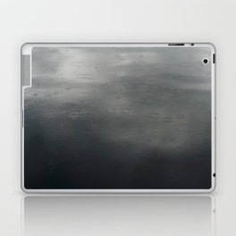 Raindrops on Loch Ness Laptop & iPad Skin