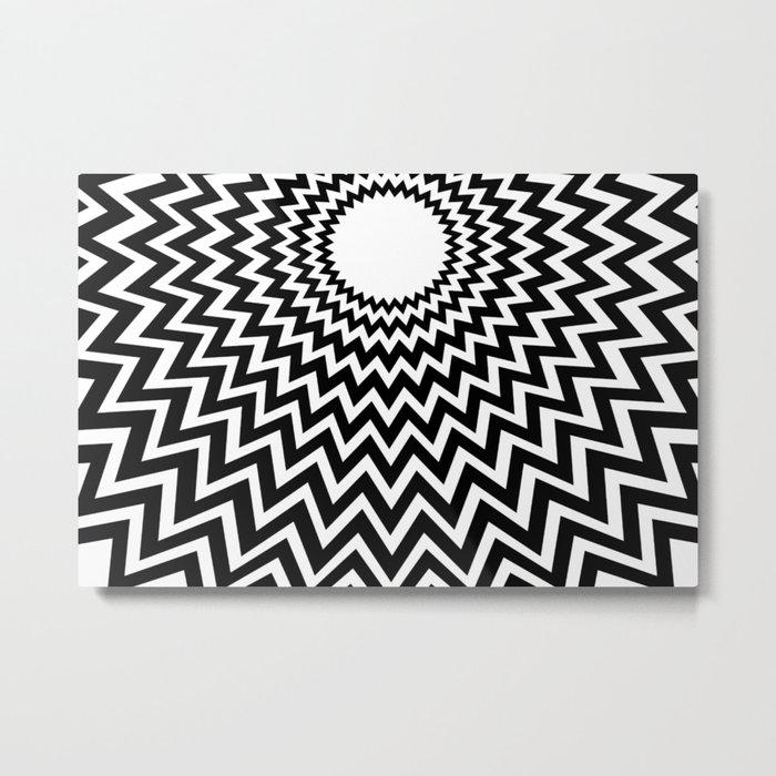 it makes me dizzy Metal Print