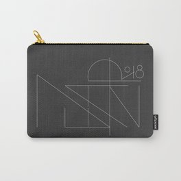 New Year Typo Black #society6 #decor #buyart Carry-All Pouch