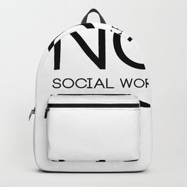 Social Worker Student Gifts For Graduation Social Worker Backpack