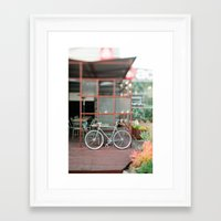 cycle Framed Art Prints featuring cycle by //The Grovers