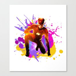 Barry Allen Canvas Print
